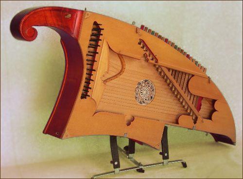 5 strumenti musicali scomparsi o quasi,Arpa Meccanica
