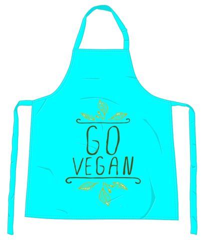 'Go Vegan' Apron
