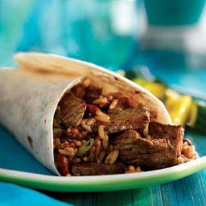 Cajun Beef  Bean Burritos, dont know if I'd like cajun but still want to try it.