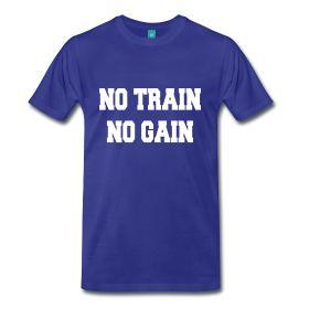 No train, no gain   #NoPainNoGain  #Pain #Gain #Train #Training #Entrainement #Sport #Deporte  #Muscu #Musculation #Muscle #Fitness