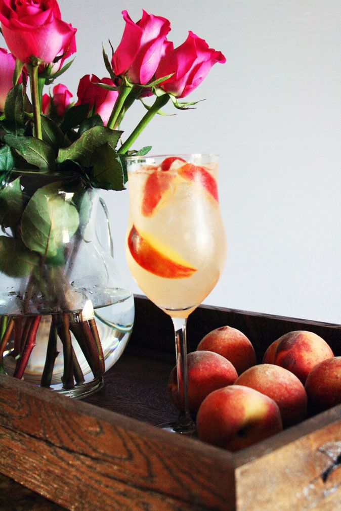 White Peach Sangria Recipe Dishmaps