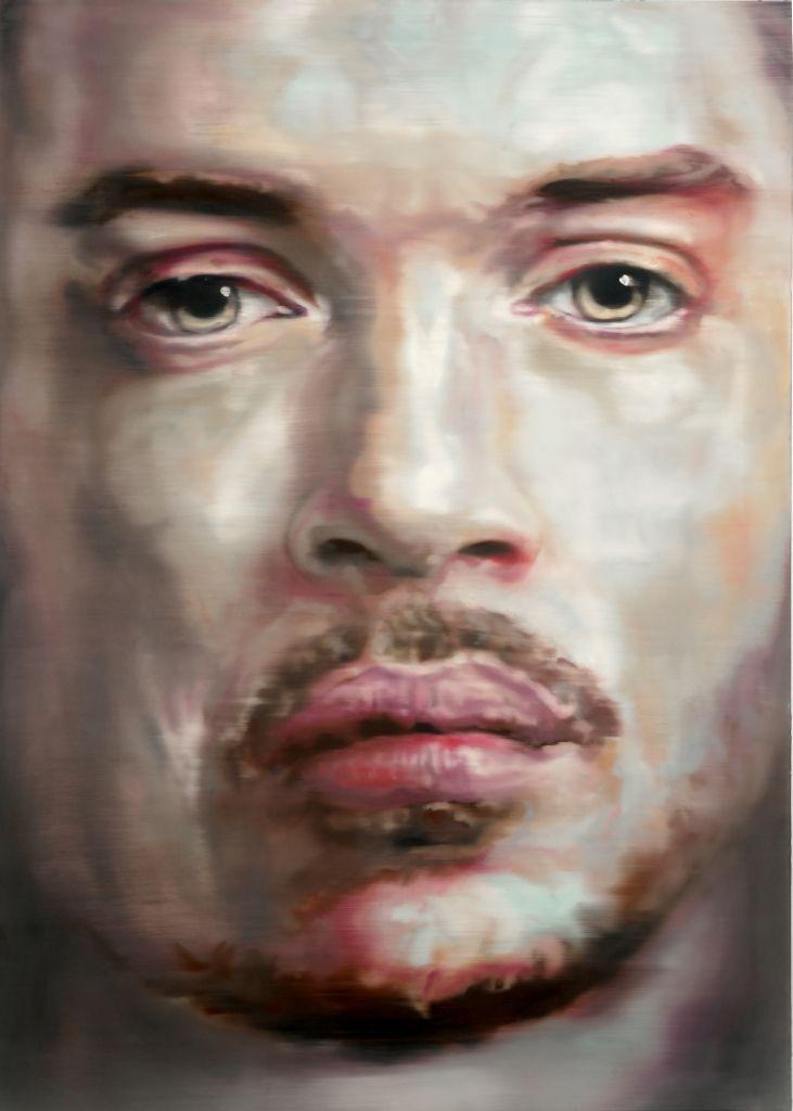 Adam 2, oil on aluminum, 100 x 140, 2011 Martin C. Herbst is an Austrian painter