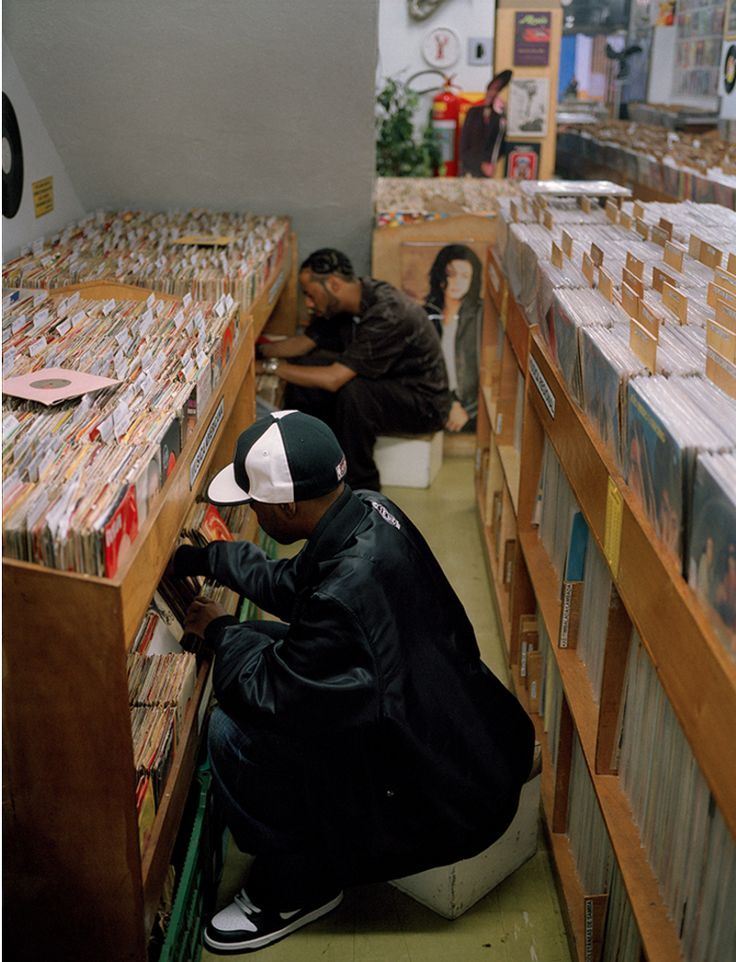 J Dilla and Madlib digin'