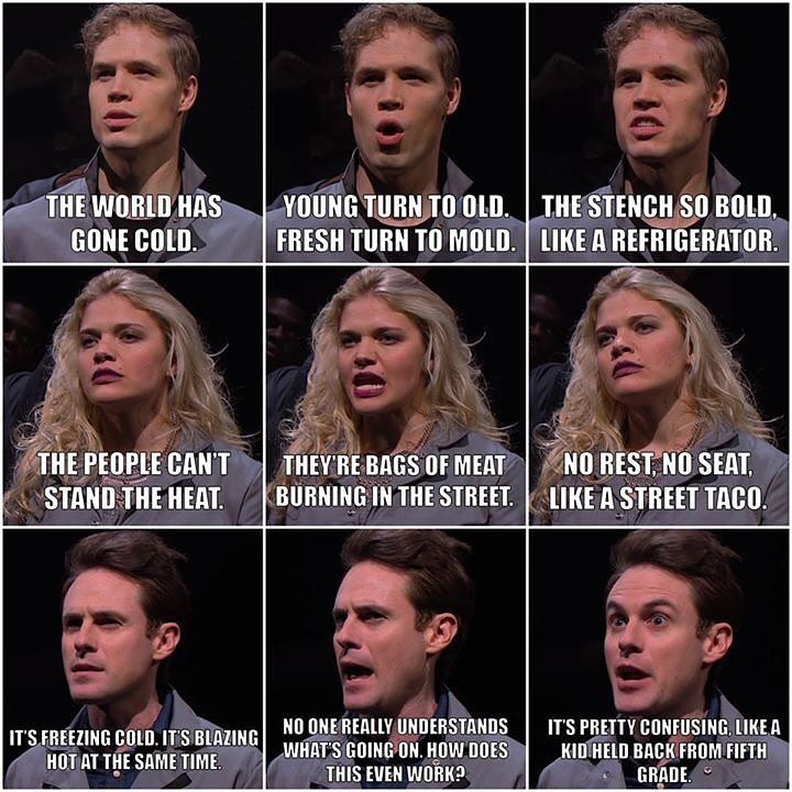 Clearly Matt is a genius when it comes to slam poetry! Whose line is your favorite?! Comment below! #StudioC