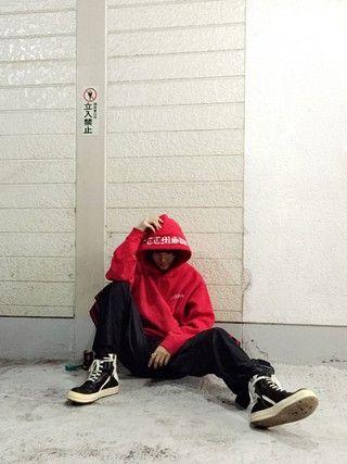 「TTT_MSW LOGO PARKA(TTT_MSW)」 using this Kuroyanagi Kosuke looks