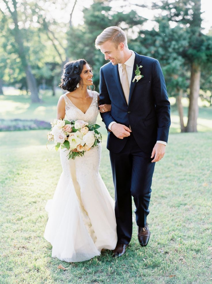 Bride and groom have a gorgeous Midwest multicultural wedding: Photography : Jen Dillender Photography Read More on SMP: http://www.stylemepretty.com/2016/10/10/multicultural-catholic-buddhist-wedding/