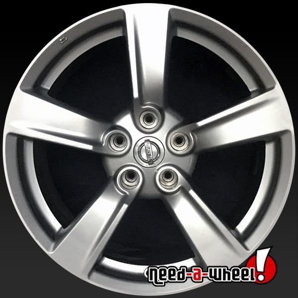 2009 Nissan 370z Oem Wheels For Sale 18 Hypersilver Stock Rims 62523 Oem Wheels Wheels For Sale Nissan 370z