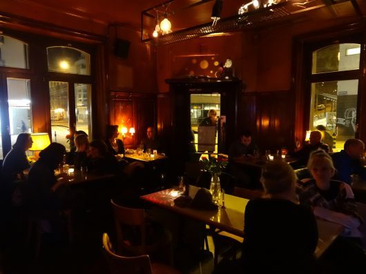 Nordbrücke - Intimate bar and restaurant with wooden interior (a local favorite)