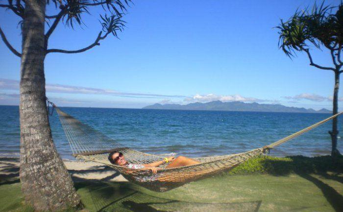 Chillin' In A Fijian Hammock
