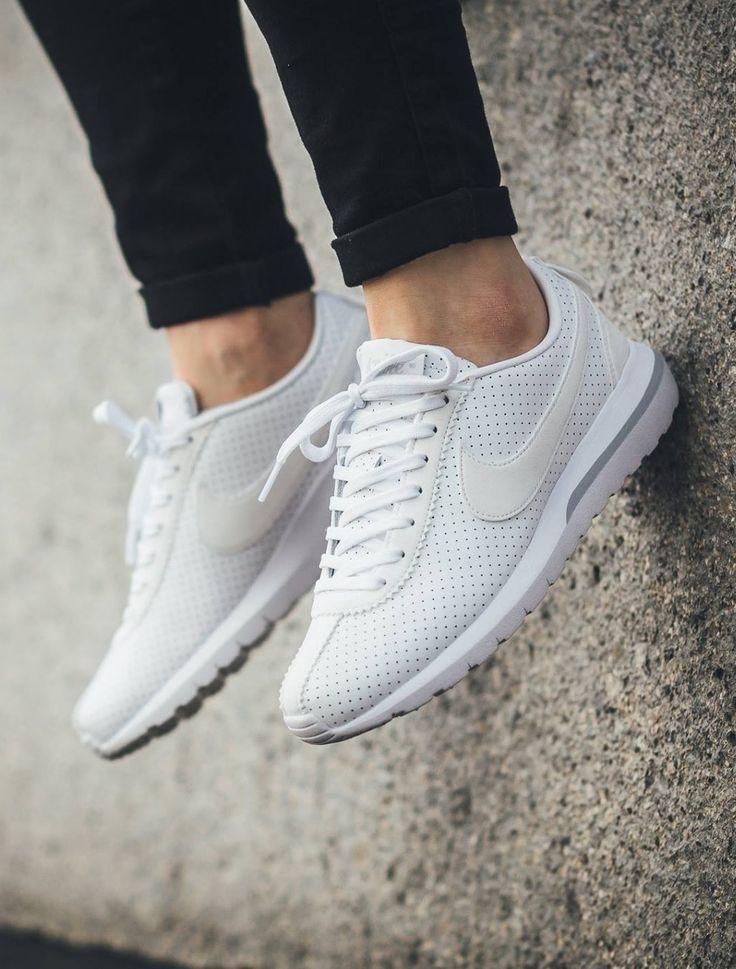 huge selection of fe892 1de7e ... Nike Roshe Cortez  White   Sneakers  Nike Cortez   Pinterest   Nike,  Nike ...
