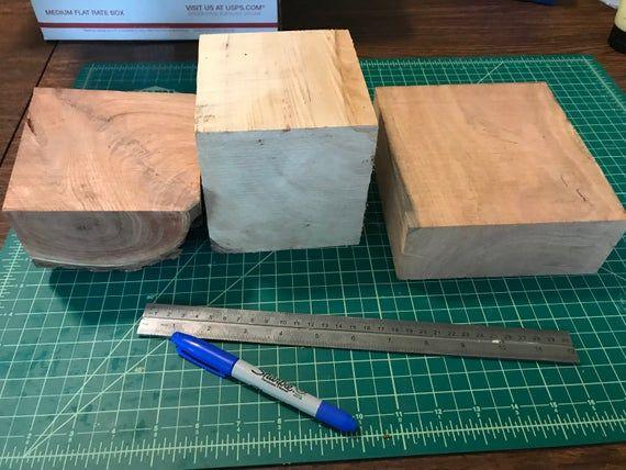 Mesquite Pecan 13 wood turning blanks Osage Orange Pear
