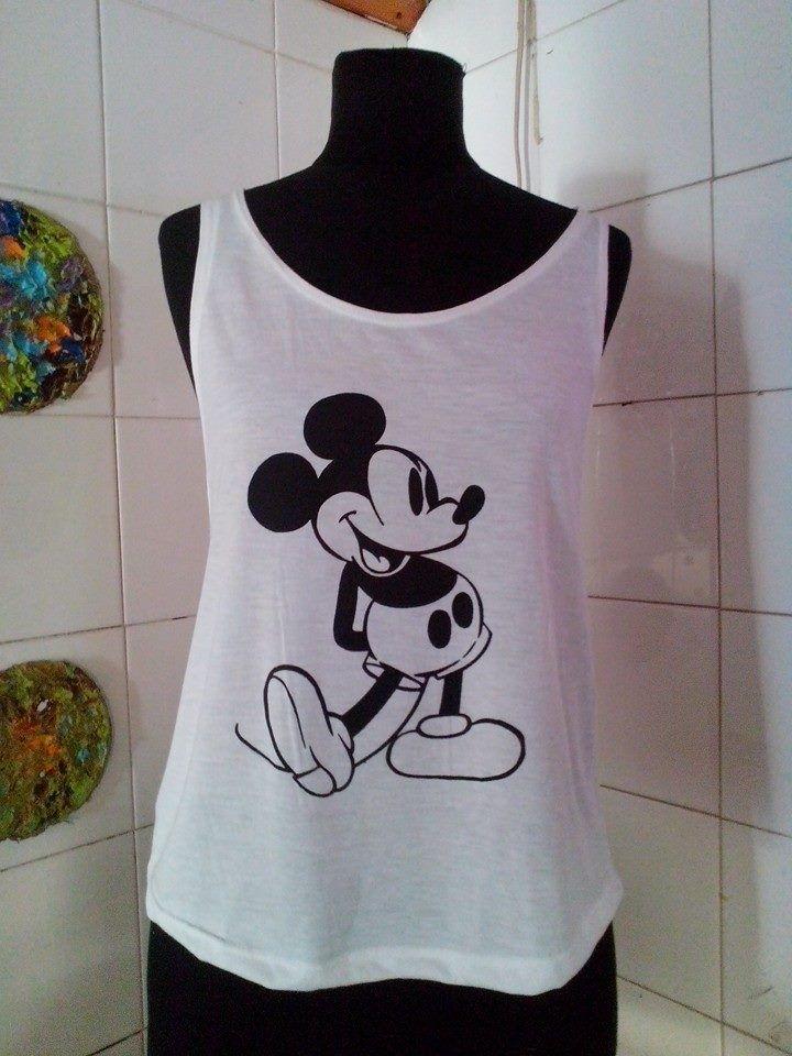 musculosa sin sisa Mickey