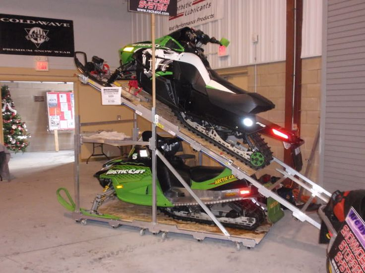 Cool Way To Save Space Snowmobile Funnies Snowmobile