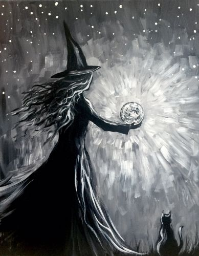 Paint Nite - Witch's Moonspell
