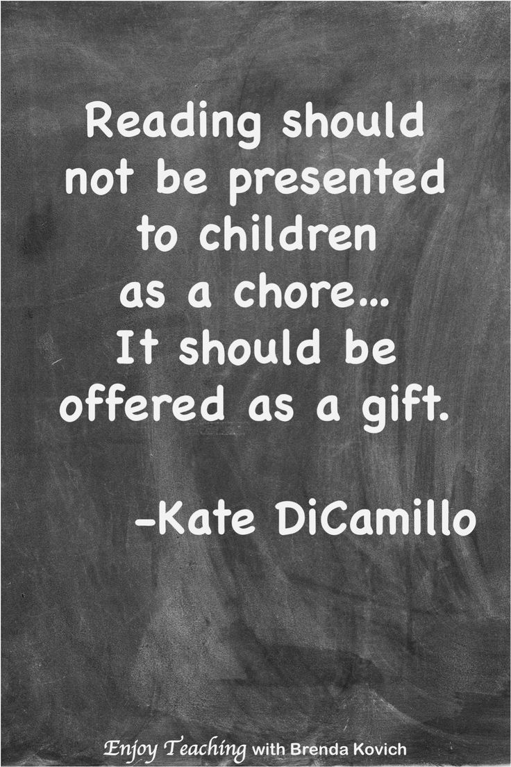 Inspirational educating quote by Kate DiCamillo. Get pleasure from Instructing with Brenda Kovic…