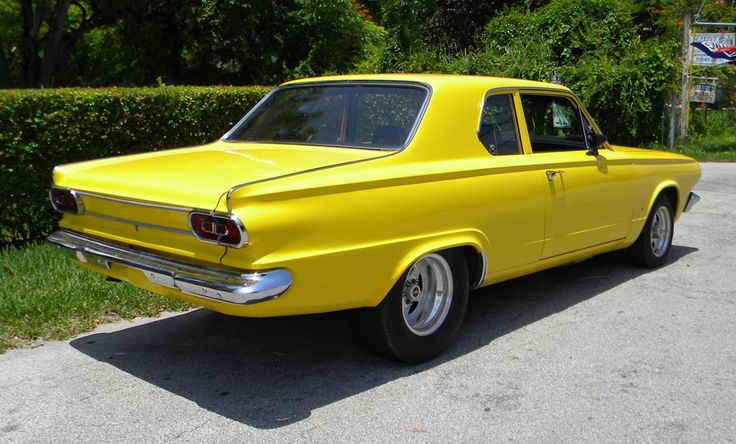 Items That Are The Color Yellow 1965 Dodge Dart Used