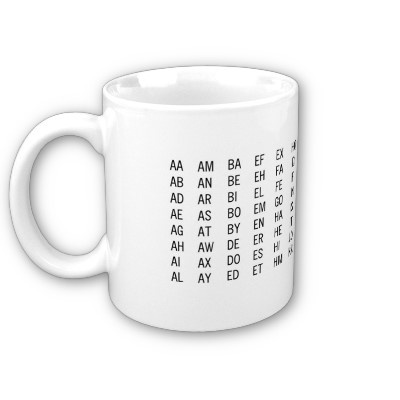 2 letter word mug this would be so convenient when playing words with friends over