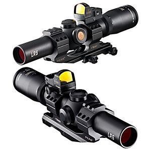 Burris Fullfield TAC30 Tactical Rifle Scope with Fast Fire II Red Dot Reflex Sight and AR-P.E.P.R. Mount | Bass Pro Shops