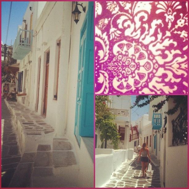 Streets of Mykonos - @emmar1214- #webstagram