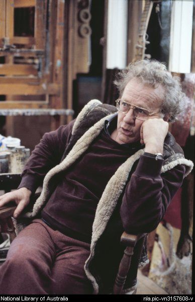 Luck, Peter, 1944 - Portrait of Clifton Pugh, 1978.