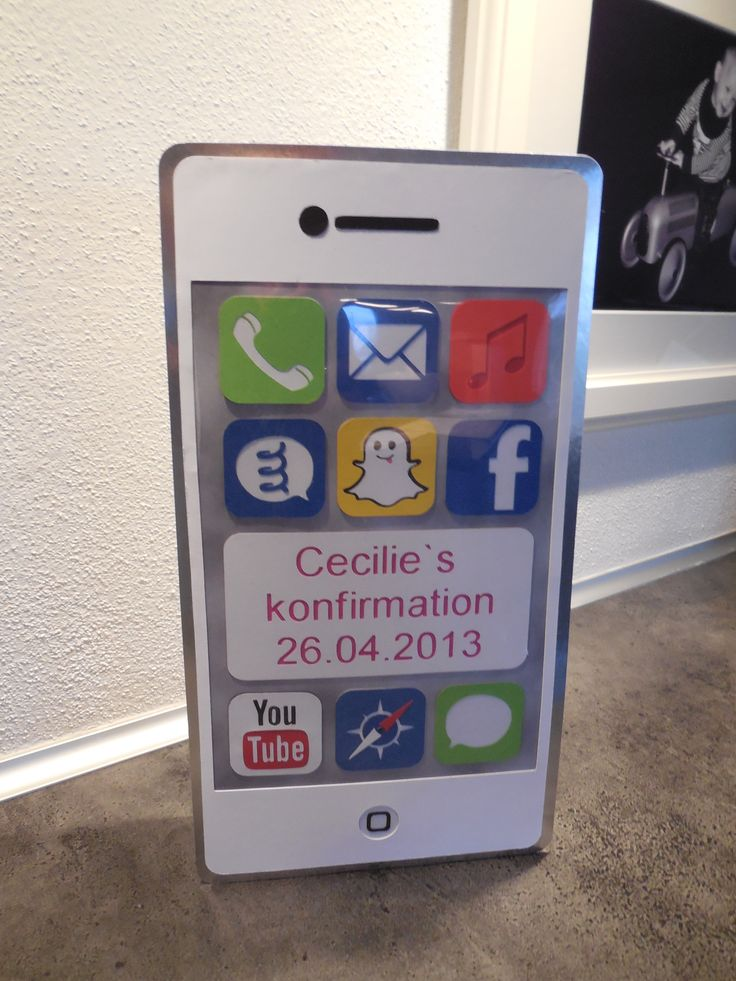 Iphone sangskjuler til konfirmation