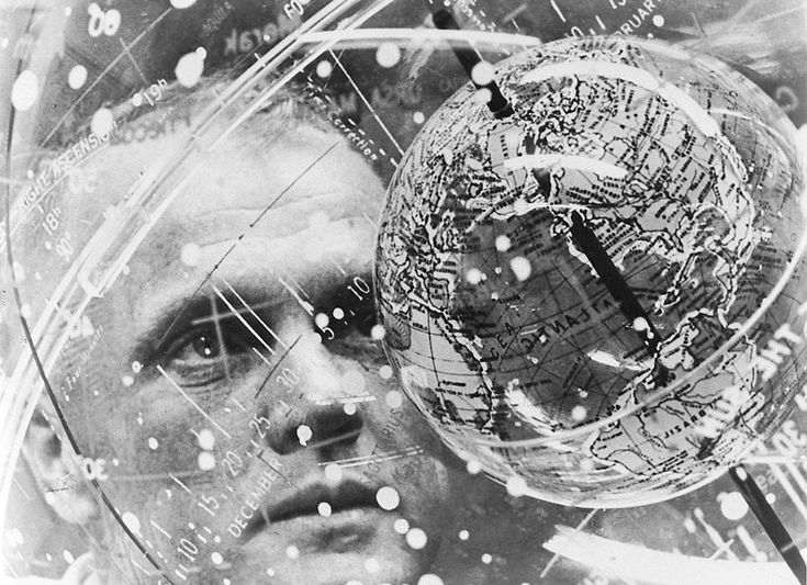 || Astronaut John H. Glenn Jr. looks into a Celestial Training Device (concentric globes) during training in the Aeromedical Laboratory at Cape Canaveral, Florida in February of 1962. (NASA)
