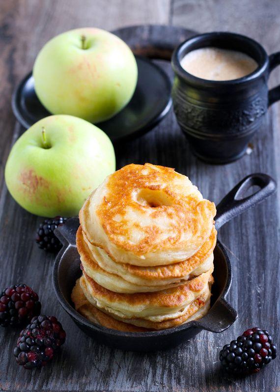 Frittelle con #cannella e #mela Dolcezza infinita e di qualità con le #spezie James 1599