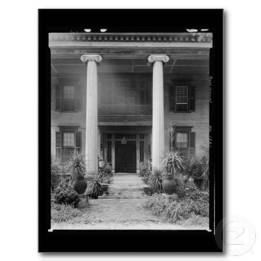 Postcard-Vintage Southern Architecture 1