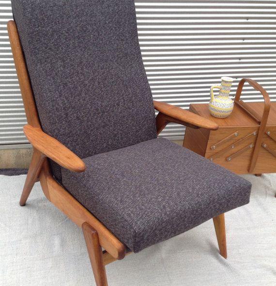 Retro Vintage 60's Armchair  fully restored by littlebitmelq