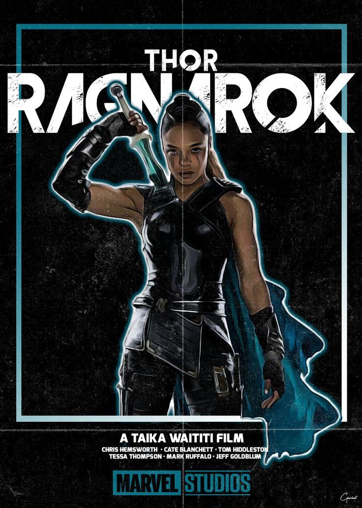 CyberSheff — VHS-esque 'THOR: RAGNAROK' posters.
