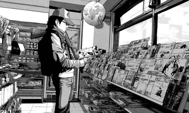 Inio Asano protagonista en la portada de I Am a Hero #18