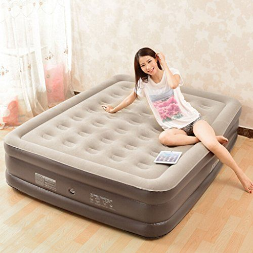 Yd Lazy Bed Inflatable Mattress 2 Popularity Mattress Plus Thick Home Extra Large Size 200x145x50cm S Izobrazheniyami Postelnye Prinadlezhnosti Mebel