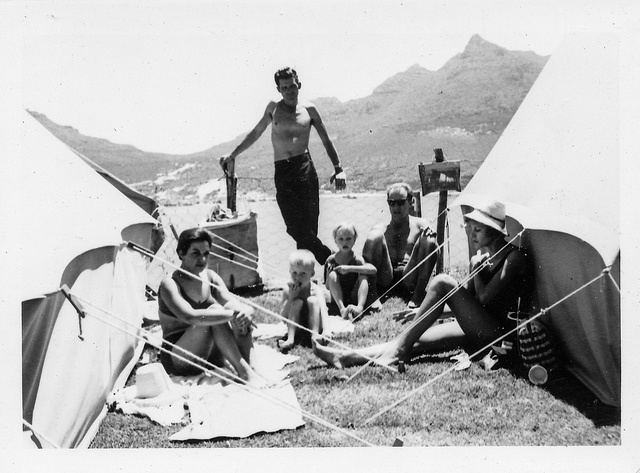 Camping in Hout Bay 1963