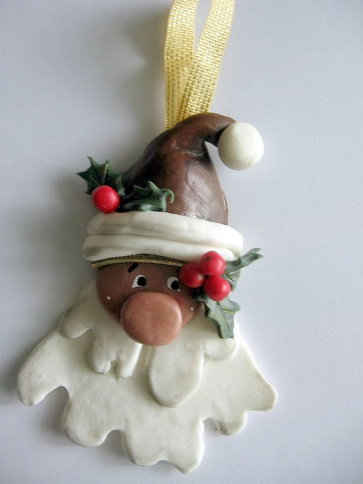 Babbo Natale con bacche rosse