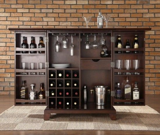 Modern Home Bar Cabinet: 21 Best Images About Mini BAR At Home On Pinterest