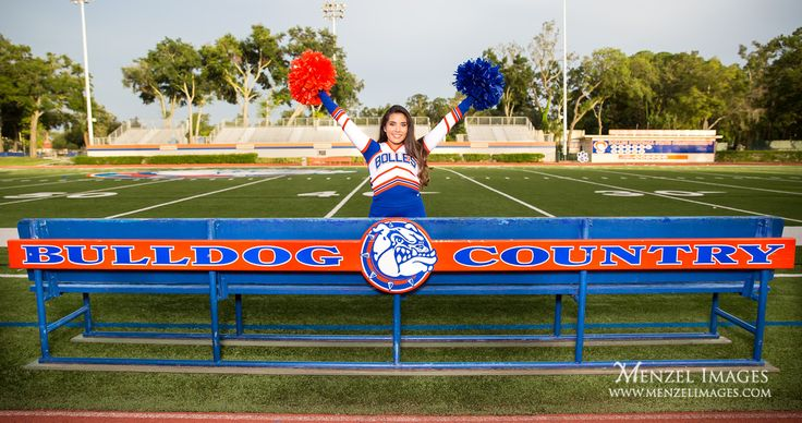 Always looking for ways to get the school name/logo into cheerleading or sports senior photos. #Classof2018, #SeniorPortraits, #GirlsSeniorPortraits, #GirlsSeniorPictures, #Cheerleader, #Cheerleading, #SchoolSpirit, #TheBollesSchool, #MenzelImages