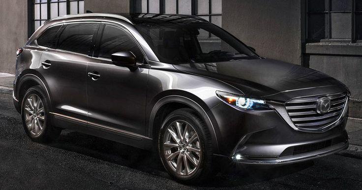 2018 Mazda CX-9 Gains New Safety Features, G-Vectoring Control #Mazda #Mazda_CX_9