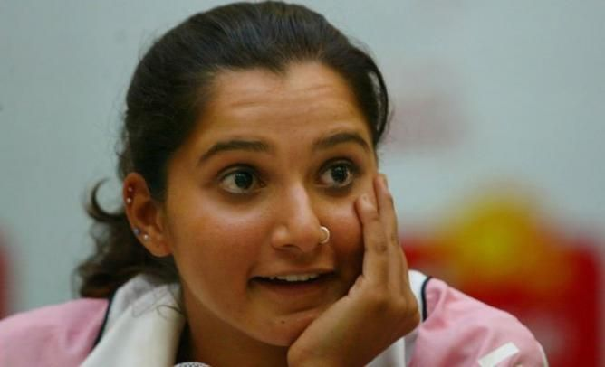 Indian Tennis star Sania Mirza is excited to be in Roger Federer´s team