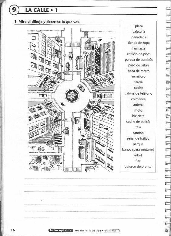 bb129b1d510983f7cd03c70b4338141f spanish vocabulary teaching spanish 77 best la ciudad images on pinterest learn spanish, learning