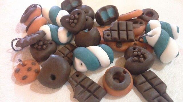 Chocolates de porcelana fria