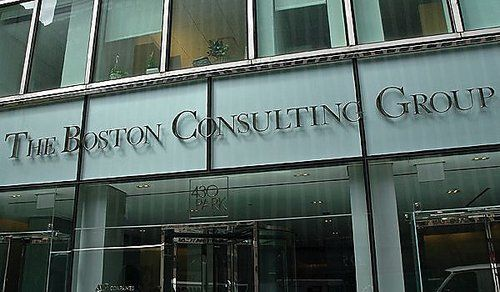 """Top 25 companies for Career Opportunities: Boston Consulting Group – New York – """"Outside BCG offices at 430 park Ave in New York…"""""""