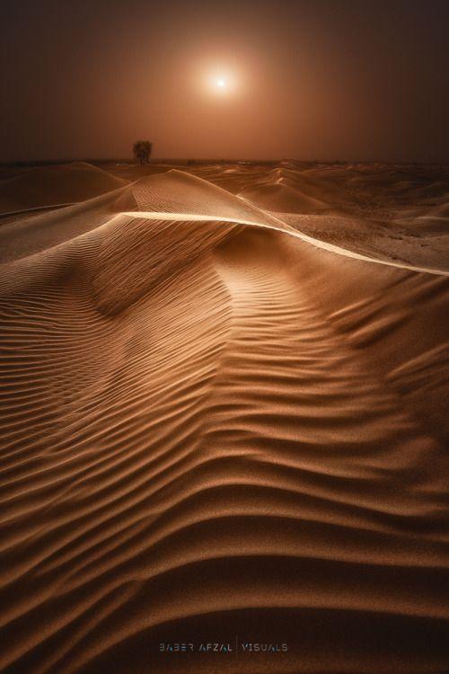 "etherealvistas: "" Stepping Sand (UAE) by Baber Afzal    Website    Facebook """