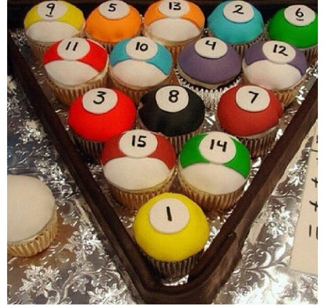 83 Best Cakes Billiards Images On Pinterest Pool Table