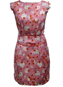 Emily and Fin Pink Floral Alice Dress