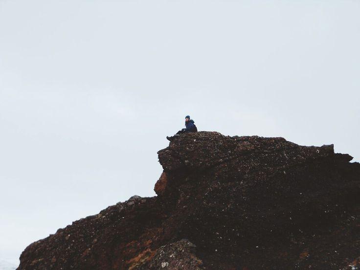#rock #mountain #iceland #trip