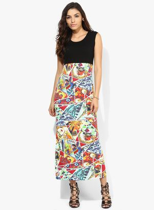 Multicoloured Dresses for Women - Buy Multicoloured Women Dresses Online in India