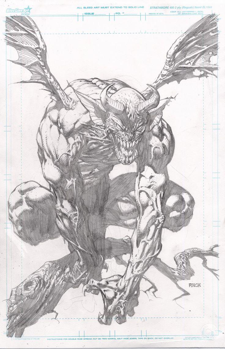 Comic Book Artist: David Finch | Abduzeedo Design Inspiration