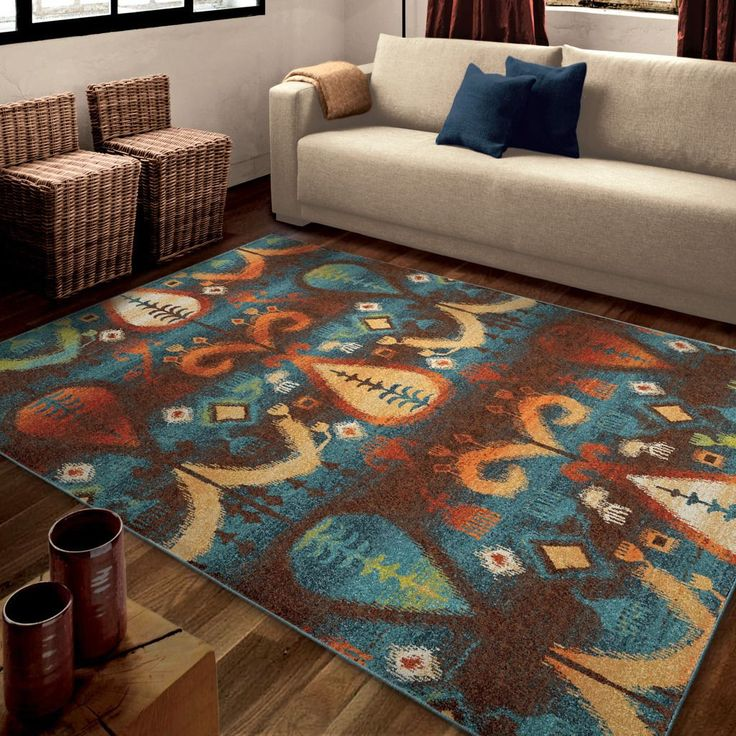Carolina Weavers Bright Color Southwest Konya Multi Area Rug