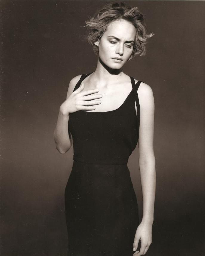 Amber Valletta for Jil Sander - Peter Lindbergh