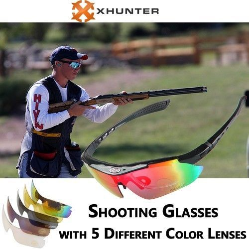Polarized Shooting Glasses with 5 Different Lenses | Buy Hunting Accessories